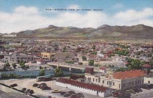 Birdseye View Of Juarez, Old Mexico, 1930-1940s