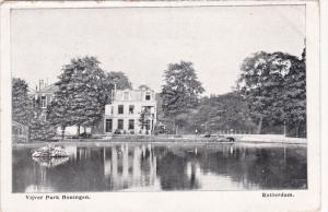 ROTTERDAM, Zuid-Holland, Netherlands, 1900-1910's; Vijver Park Honingen