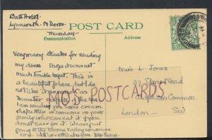 Family History Postcard - Jones - 37 Elms Road, Clapham Common RF2059