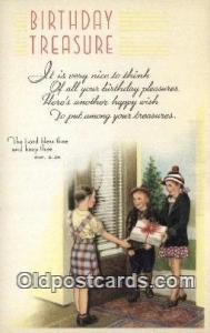 Birthday treasure Religion, Religious Old Vintage Antique Postcard Post Cards...
