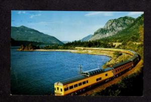 City of Portland Streamliner Union Pacific Railroad Train RR Postcard Columbia