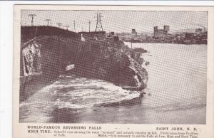 Reversing Falls , High Tide , SAINT JOHN , New Brunswick , Canada , 00-10s