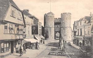 England Kent Canterbury West Gate