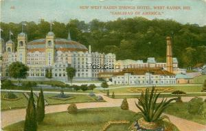 IN, West Baden Indiana, West Baden Springs Hotel