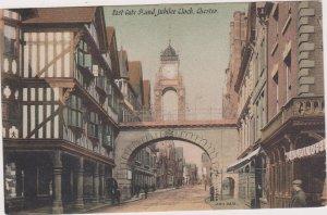 CHESTER, England, UK, 1900-1910s ; East-Gate Strand Jubilee Clock