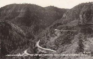 RP: Creek Canyon , Arizona , 1930-40s ; Highway 89 Switchback