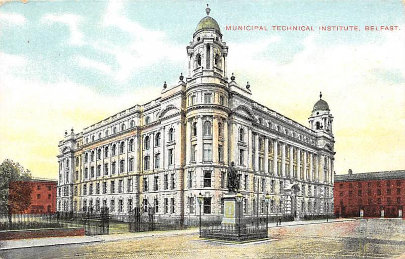 Northern Ireland Belfast, Municipal Technical Institute