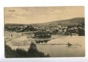 156084 SWEDEN SOLLEFTEA view Vintage postcard