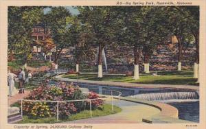 Alabama Huntsville Big Spring Park