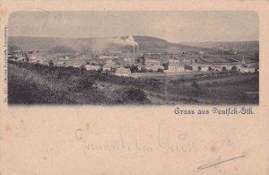Gruss Aus Deutsch-Oth (now Audun-le-Tiche), Germany (now France), PU-1900