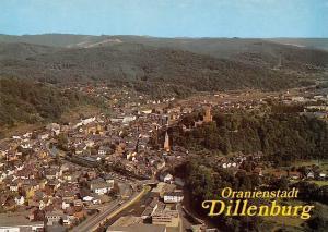 Oranienstadt Dillenburg Gesamtansicht Panorama