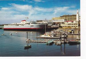 The M.V. Coho in the Inner Harbour, Victoria,  B.C., Canada,  50-70s