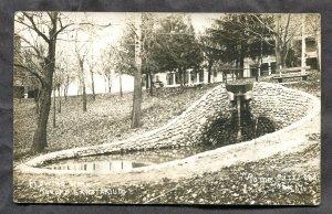 dc270 - ROME CITY Indiana 1910s Kneipp Sanitarium Real Photo Postcard