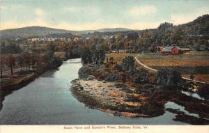 Aerial View   Basin Farm and Saxton's River  Bellows Falls Vermont