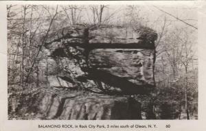 RPPC Balancing Rock at Rock City Park, Olean NY, New York