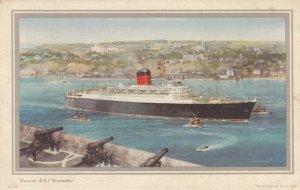 Oceanliner/Steamer/Ship, 1959 ; R.M.S. CARINTHIA , Log