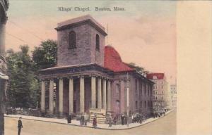 Massachusetts Boston Kings Chapel