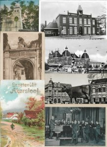 Netherlands - Postcard Lot of 27 RPPC and Printed   01.03