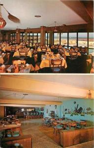 Padre Island Texas~Sea Island Resort Hotel~Marine Room~Surf Rider Club~1950s
