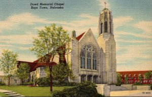 Nebraska Boys Town Dowd Memorial Chapel Curteich
