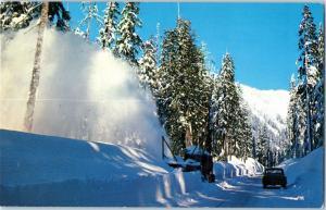 Snow Removal, Stevens Pass Highway, Washington c15