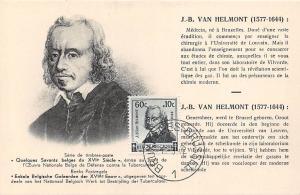 J.B. Van Helmont (1577-1644) Flemish chemist, physiologist, physician 1942