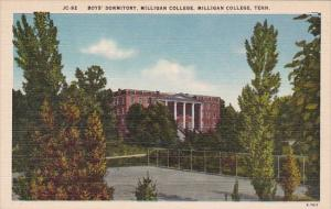 Tennessee Milligan College Boys Dormitory Milligan College Albertype