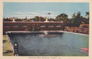 KITCHENER , Ontario , Canada , 1930s; Swimming Pool