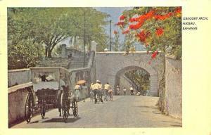 Gregory Arch Nassau Bahamas Caribbean in 1955 Postcard
