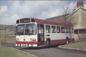 Bus, CYNON VALLEY, Wales, 50-70's