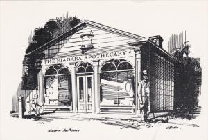 AS: Niagara Apothecaryrld, Living Pharmacy Museum, Niagara-on-the-Lake, Ontar...