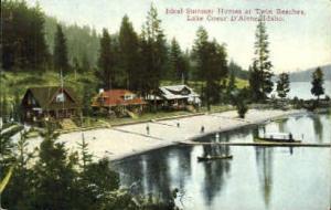 Summer Homes at Twin Beaches Coeur d'Alene ID Unused