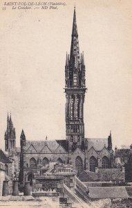 SAINT POL DE LEON, Finistere, France, 1900-1910s; Le Creisker