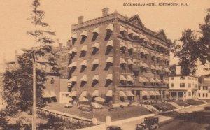 PORTSMOUTH, New Hampshire, 1900-10s; Rockingham Hotel