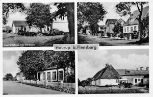 Haurup b Flensburg Geschaeftshaus Ole Soerensen Auto Vintage Car