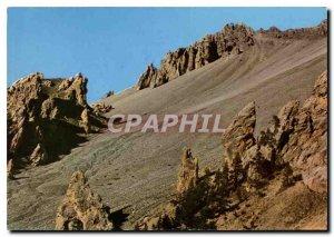 Modern Postcard Route large collar Alps Izoard La Casse Deserte