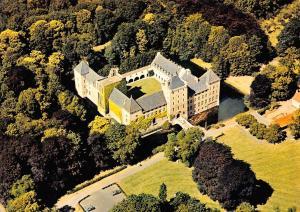 Belgium Brugge Sint Trudo Abdij Grafelijk Slot van Male Air view