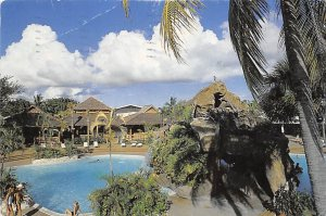 Bahamas Post card Old Vintage Antique Postcard Rock and Waterscape Pool Princ...