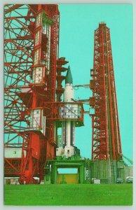 Kennedy Space Center Florida~NASA~SA-5 Pre-Launch Checkout~Space Booster~1970s