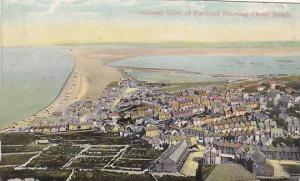 General View of Portland showing Chesil Beach,  Dorset, United Kingdom, 00-10s