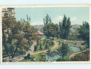 Divided-Back OAK TREE KNOLL AT HUNTINGTON HOTEL Pasadena - Los Angeles CA B4971