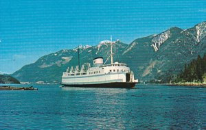 Ferry M V Langdale Queen British Columbia