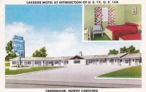 CREEDMOOR , North Carolina , 1958 ; Lakeside Motel
