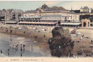 BIARRITZ, Pyrenees-Atlantiques, France; La Casino Municipal, 00-10s