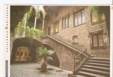 Postal 047800 : Barcelona. Museu Picasso. Palau Berenguer dAguilar. Lavanguar...