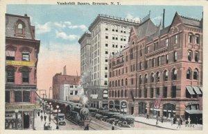 SYRACUSE ,  New York , 1900-10s ; Vanderbilt Square , Train