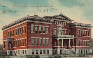 ELKINS , West Virginia, 1910 , First Ward Public School