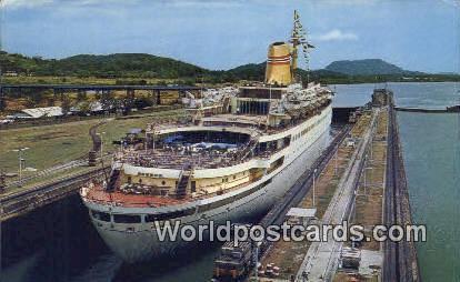 República de Panamá Tourist Liner Panama Canal