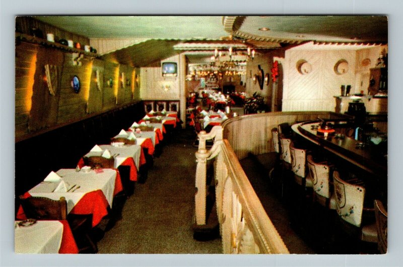 Chicago IL, William Tell Fine Steaks, Chrome Illinois Postcard