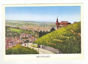 Stuttgart, Germany 1940s, Neue Weinsteige